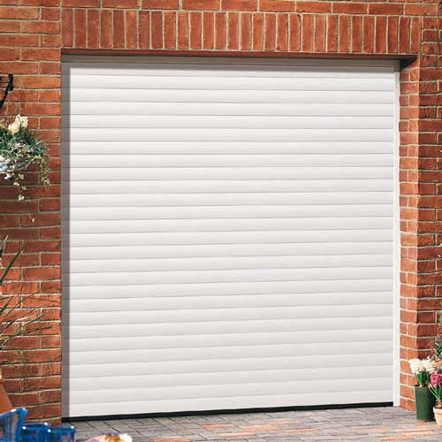 INSULATED ROLLER SHUTTER GARAGE DOOR - YouTube